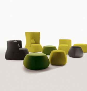 fat fat by b b italia designer patricia urquiola. Black Bedroom Furniture Sets. Home Design Ideas