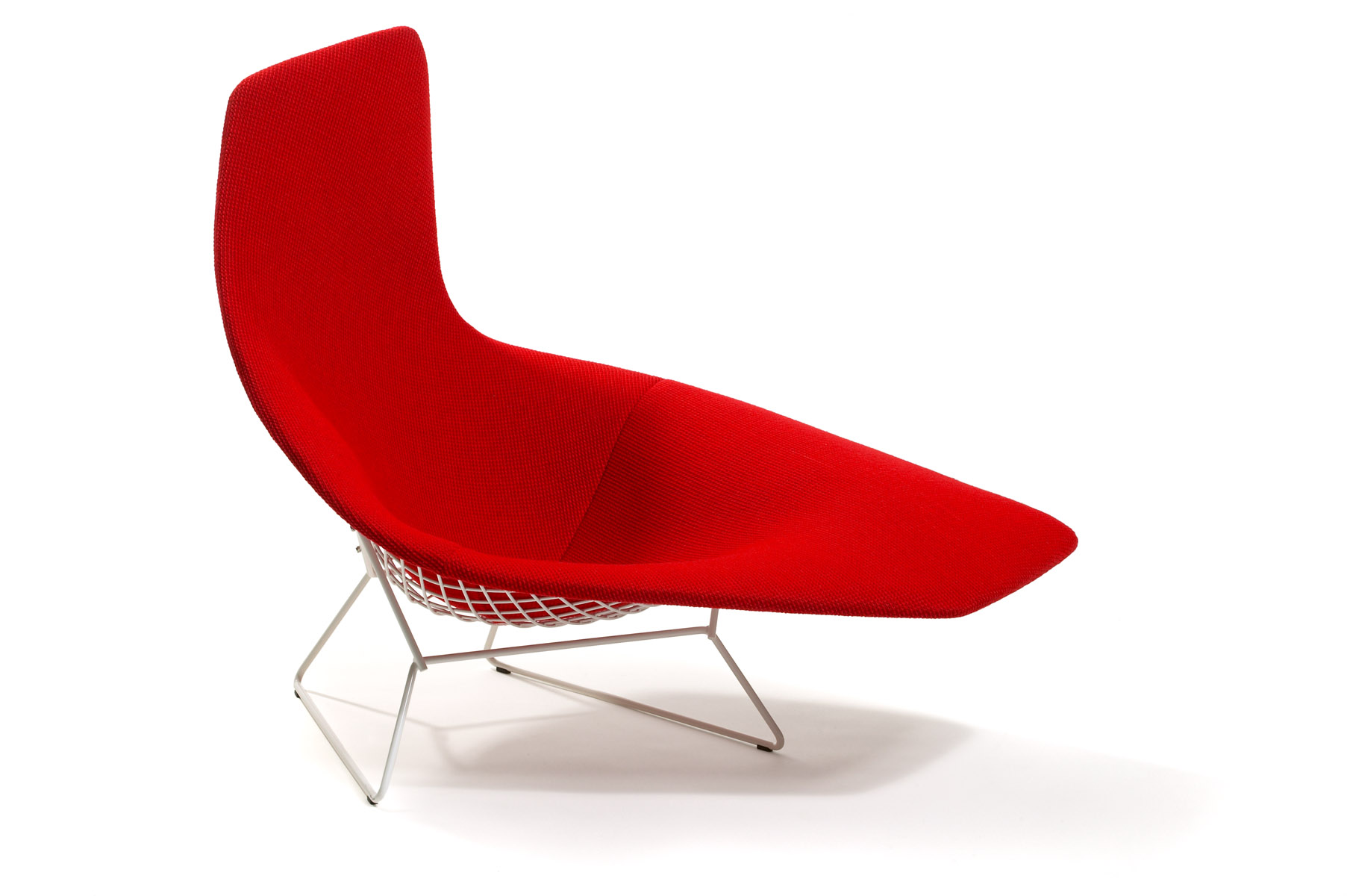 Asymmetric chaise designed by harry bertoia for Bertoia asymmetric chaise