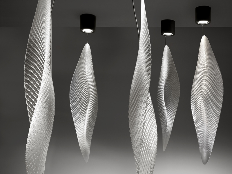ross lovegrove lighting. Cosmic Leaf Suspension By Ross Lovegrove Lighting